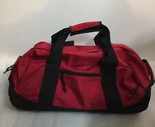 L.L. Bean Medium Rolling Adventure Duffle Carry On Luggage Bag Red