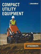 Equipment Brochure - Ditch Witch - Compact Utility Attachments - 2014 (E4706)