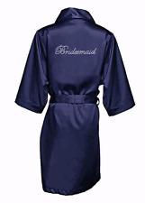 BEAUTIFUL Bridal party robe, bridesmaid satin robe, personalized satin robe