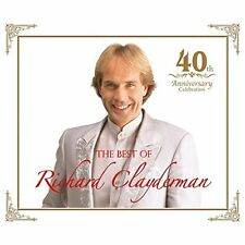 RICHARD CLAYDERMAN-40 YEARS ANNIVERSARY BEST-JAPAN 2 CD+DVD Japan with Tracking