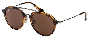 Ray-Ban Junior Sunglasses RJ 9065S 152/73 48 Tortoise / Gunmetal | Brown Classic
