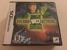 Ben 10: Alien Force - Vilgax Attacks (Nintendo DS, 2009) DS NEW