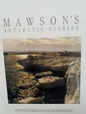 Mawsons Antarctic Diaries Fred Jacka Huge Book Frank Hurley hbdj