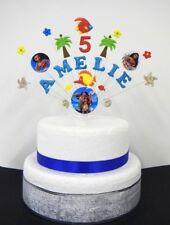 MOANA, Raperonzolo, cindrella, qualsiasi Principessa personalizzato compleanno cake topper