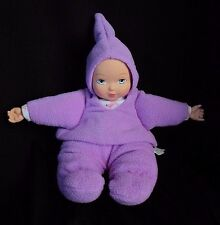 Madame Alexander My First Baby Powder Purple Lavender Lovey Plush Doll