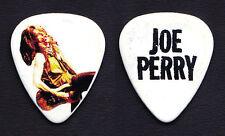 Aerosmith Joe Perry Signature Photo White Guitar Pick - 2010 Tour