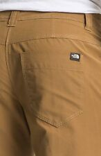 THE North Face Granite cupola Pantaloncini Utility SENAPE BRUNA 32 Medium M Nuova con etichetta