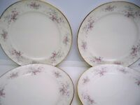 4 GORHAM FINE CHINA ''JOLIE'' BREAD AND BUTTER PLATES  6 1/2 ''