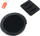 Geesatis 1 PCS Sound Hole Cover Rubber Acoustic Guitar Mute Silencer Feedback Re