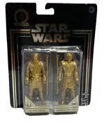 Star Wars Commemorative Edition Skywalker Saga Gold Obi-Wan & Anakin Set W10