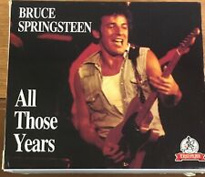 Bruce Springsteen All Those Years 5 CD Box Set