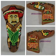 Scotty Cameron HeadCover 2012 Laslo ICC Mexican Open TCC Rare Putter Head Cover