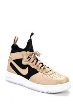 Nike Air Force One Ultraforce Lightweight High Top Sneakers Beige Black Size 8