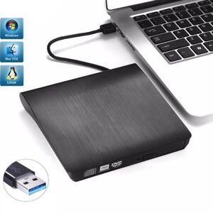 External USB 3.0 DVD RW Drive CD DVD Rewriter Burner Reader for Laptop PC MAC