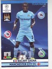 PANINI FOOT TRADING CARD CHAMPIONS LEAGUE BACARY SAGNA MANCHESTER CITY FC