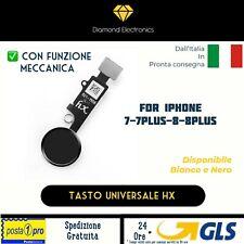🔝 Tasto Centrale Home Universale iPhone 7 7 plus 8 8 plus HX Ritorno Funzioni