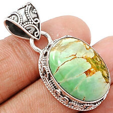 Variscite 925 Sterling Silver Pendant Jewelry VRSP142