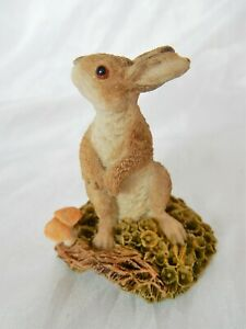 Natures Heritage Holland Studio Craft Hand Painted Miniature Figure of a Hare