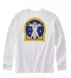 Vans x NASA Space Man Long Sleeve T-shirt Boys XL 14