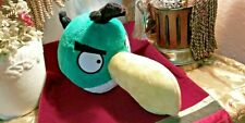 "Angry Birds 4"" tall plush Green Bird Hal Toucan doll Sound Works Great 14"" long"