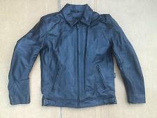"RK Sports Mens Leather Motorbike / Motorcycle Jacket Size UK 36"" Chest (H135 )"