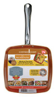 Copper Chef  As Seen On TV  Ceramic  Fry Pan  9-1/2 in.