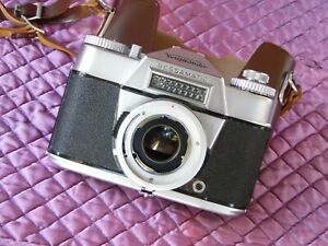 Voigtlander Bessamatic Camera Body + Case - EX+ Cosmetics - Meter Not Working