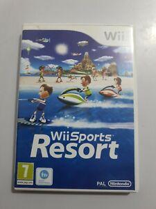 Wii SPORTS Resort Nintendo Wii PAL EUR+ESPAÑOL/NECESITA WII MOTION PLUS NO INCL.