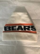 VINTAGE  CHICAGO BEARS 1980'S KNIT BEANIE HAT