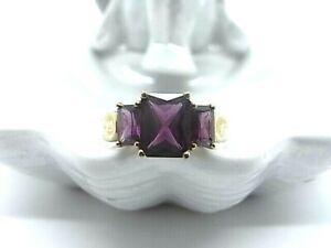 Eleganter 333 Gold Ring - 8 Karat - vermutlich Rubellit Turmalin - Goldring