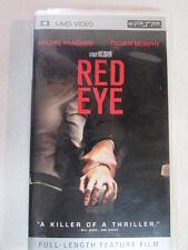 RED EYE 2005 FULL LENGTH FEATURE FILM MOVIE REGION 2 UMD SONY PSP 94806 OOP