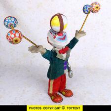 Juggling Clown happy circus juggler Alps Japan ... SEE MOVIE!