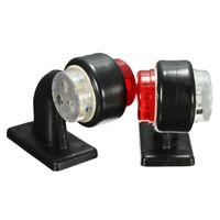 2x 10V-30V LED Feux Position Gabarit Latéral Rouge Blanc Camion Remorque Fourgon