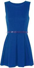 Vêtements bleus en polyester sans manches pour fille de 2 à 16 ans