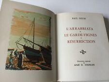 Livre de Collection Prix Nobel Littérature 1910 PAUL HEYSE L'ARRABBIATA...