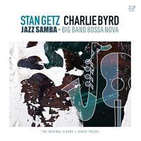 STAN & BYRD,CHARLIE GETZ - JAZZ SAMBA & BIG BAND BOSSA NOVA  2 VINYL LP NEU