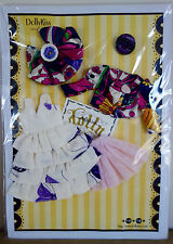 * WOW! DOLLYKISS RETRO PUCCI PURPLE DRESS SET * BLYTHE * PULLIP *