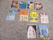Atlantic of Italy Futurama Cards x10  Lot 3 VERY RARE
