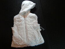 NWT Girls ZLC Collection White Reversible Vest Size XL 14 16