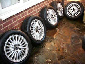 VOLVO 960 V90 940 Alloy Wheels Tyres Full set Original parts Very Good condition