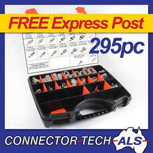 Deutsch DTM Connector Kit 295pc Series Automotive Harness Wiring Plugs #DTM-KIT2