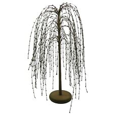 24-Inch Burgundy Pip Berry Weeping Willow Tree Rustic Vintage Home Décor Gifts