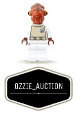 Lego Star Wars Admiral Ackbar Minifigure [7754]