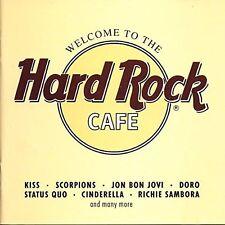 Welcome to the Hard Rock Cafe (1992) Kiss, Scorpions, John Bon Jovi, Doro.. [CD]