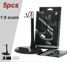5 Pcs 1/6 Scale Action Figure Base Display Stand U Type For Very hot toys