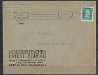 Deutsches Reich, MiNr. 388 EF Berlin 22.03.1928 Maschinen-St