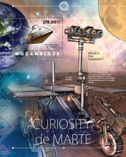 NASA MARS CURIOSITY Exploration Rover Car Space Stamp Sheet #2 (2012 Mozambique)
