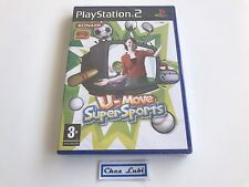 U-Move Super Sports - Sony PlayStation PS2 - FR - Neuf Sous Blister