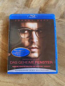 Sammlungsreduzierung! Blu-ray - Das geheime Fenster / Johnny Depp