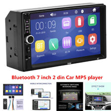 """New listing 7"""" Bluetooth Car Stereo Radio 2Din Hd Mp5 Touch Screen Ios/Android Mirror Link"""